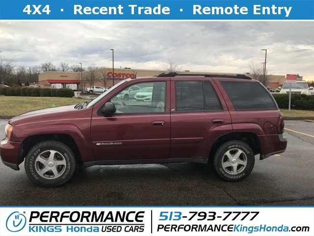 2004 Chevrolet Trailblazer >> Pre Owned 2004 Chevrolet Trailblazer Lt 4wd