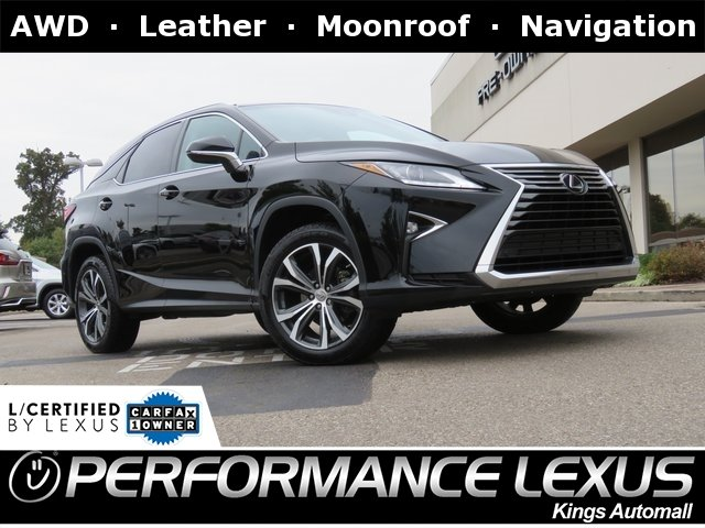 Lexus Certified Pre Owned >> Certified Pre Owned 2016 Lexus Rx 350 Awd
