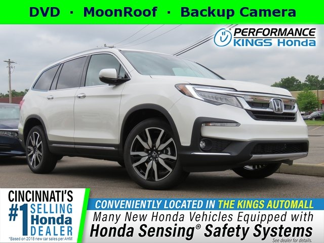 New 2019 Honda Pilot Elite With Navigation Awd