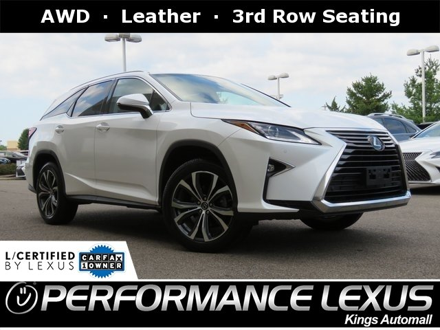 Lexus Certified Pre Owned >> Certified Pre Owned 2018 Lexus Rx 350l Luxury Awd