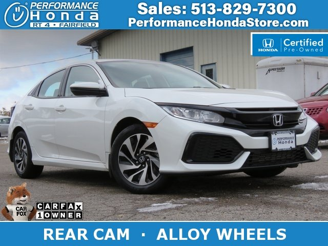 Honda Civic Certified Pre Owned >> Certified Pre Owned 2017 Honda Civic Hatchback Lx Fwd Hatchback